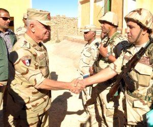 رئيس الأركان: تضحيات مصابي الجيش تجسد نضال أبناء مصر الأوفياء