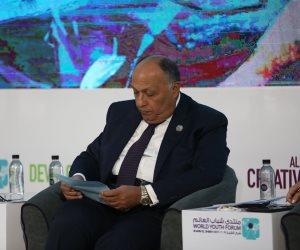 سامح شكرى يبحث مع رئيس البرلمان المغربى تطورات الأوضاع العربية والإفريقية