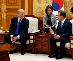 بدء قمة ترامب وجاي- إن في كوريا الجنوبية (صور)