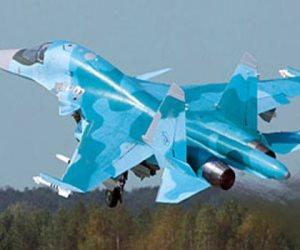 """مقاتلات """"سوخوى-34"""" الروسية الجديدة تجري أول عملية إطلاق للصواريخ"""