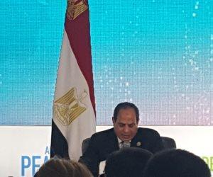 السيسي: موقفنا واضح من قطر ولن نتراجع عنه