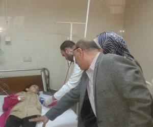 """بعد تناولهم جرعة البلهارسيا.. إصابة 24 تلميذًا بكفر الشيخ بـ""""مغص وقييء"""""""