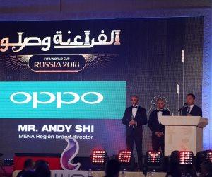 """OPPO"" تحتفل بالمنتخب المصري على طريقتها الخاصة"