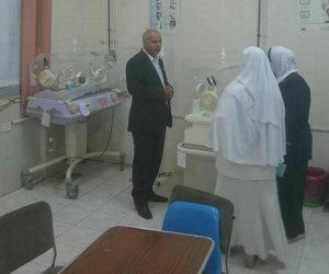 التحقيق مع 4 أطباء بمستشفى ببا المركزي في بنى سويف لتغيبهم عن العمل (صور)