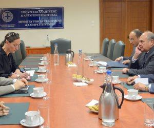 وزير الاقتصاد اليوناني: نعمل على الترويج المشترك لفرص الاستثمار في القاهرة وأثينا