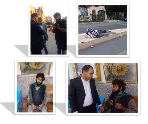 """وزارة التضامن تنقل شابا مشردا إلى دار """"عقيلة السماع"""" بحلوان"""