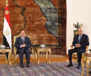 السيسي يناقش التحديات المشتركة مع رئيس حكومة تونس