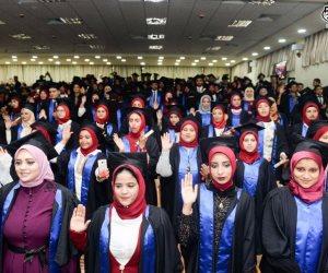 تخرج أول دفعة من 6 كليات بفرع مطروح جامعة الإسكندرية  (صور)
