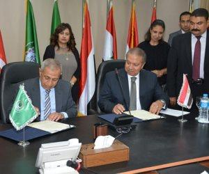 بروتوكول تعاون بين الأكاديمية العربية والقابضة للنقل البحرى