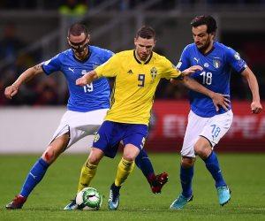 """السويد رفضت استضافة """" ايطاليا  58 """" وتقصيه من مونديال روسيا"""