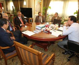 وزير التعليم العالي ورئيس الجامعة الليبية الدولية يبحثان سبل التعاون المشترك