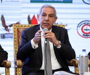 طارق قابيل يلقي كلمة مصر بالقمة الإفريقية بكيجالي نيابة عن الرئيس