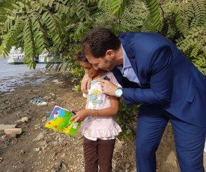 وزارة التربية والتعليم تتعهد بحل مشاكل القرى وتستجيب لطلب أسرة صياد (صور)