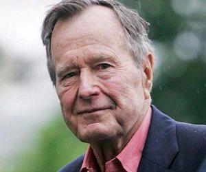 جورج بوش الأب في المستشفى لهذا السبب