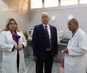 نائب رئيس جامعة الأزهر يجري زيارة مفاجئة لمستشفى الزهراء