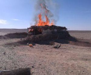 ضبط 3 تكفيرين وتدمير 9 أوكار إرهابية بوسط سيناء (صور)