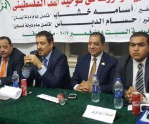 قنصل فلسطين بالإسكندرية: أمريكا خططت للربيع العربي بمباركة الإخوان