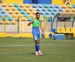 الأسيوطى يجهز عمر بسام لقيادة الهجوم أمام المصرى (صور)