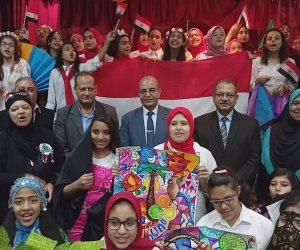 """وكيل تعليم بورسعيد يشهد فعاليات """"تراثنا الأصيل"""""""
