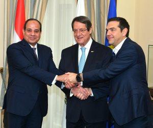 السيسي ورئيس وزراء اليونان يعلنان 2018 عاما للصداقة بين البلدين (صور)