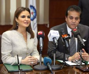 """وزيرا التعليم العالي والاستثمار يوقعان بروتوكول تعاون لدعم مبادرة """"فكرتك شركتك"""" (صور)"""
