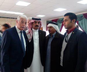 خالد فودة يلتقي 70 مواطنا لحل مشاكلهم بجنوب سيناء (صور وفيديو)