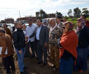 إنشاء محطة مياه شرب جديدة بمركز الرحمانية على مساحة 20 ألف متر (صور)
