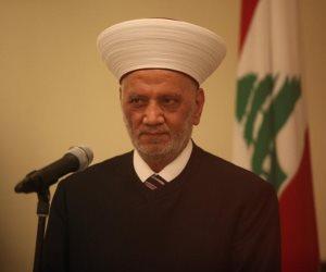 مفتى لبنان ووزير الدفاع يعزيان السيسي في شهداء مسجد الروضة