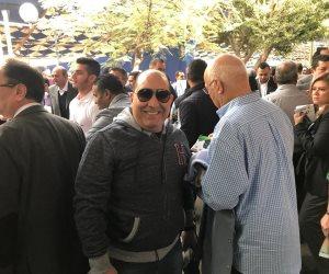 انتخابات نادى الصيد .. ميدو وعاشور وريان ومهيب يدعمون قائمة محسن طنطاوي (صور)