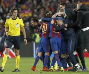 برشلونة يخطف تعادلا قاتلا أمام إشبيلية بالدوري الإسباني (فيديو)