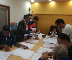 بعد انتهاء التصويت .. بدء فرز الأصوات فى انتخابات نادي الأقصر الرياضي (صور)