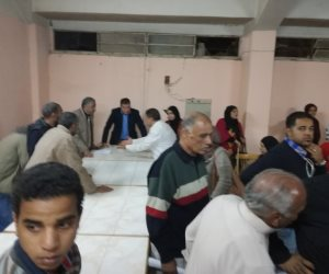 عودة اللجنة القضائية بعد انسحابها قبل إعلان نتيجة انتخابات نادي الأقصر الرياضي ( صور )