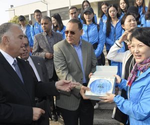 جامعة قناة السويس تستضيف الفريق الأوبرالي الصيني