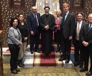 كواليس زيارة وفد البرلمان البريطاني للقاهرة (صور)