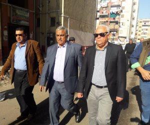 إنشاء سوق بمنطقة الحراسات لخدمة الأهالي ببورسعيد