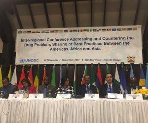"""""""التضامن"""" تعرض تجربة مصر في مكافحة تعاطي المخدرات بمؤتمر الأمم المتحدة بكينيا"""