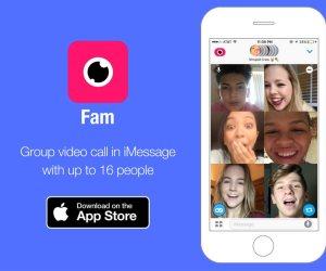 خطوات تساعد في تحميل وتثبيت تطبيق Fam  لـ iMessage على هواتف وأجهزة شركة أبل