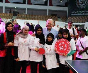 38 فتاة يمثلون مصر في الالعاب الاقليمية التاسعة للاولمبياد الخاص بأبو ظبى 2018
