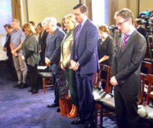 دقيقة حداد داخل الكونجرس على شهداء حادث مسجد الروضة الإرهابي