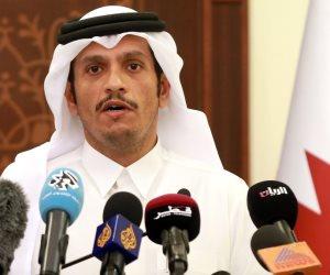 صورة تكشف تآمر الدوحة على القضية الفلسطينية.. فضيحة وزير خارجية الدوحة وحاخام يهودي (صورة)