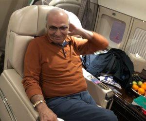 أول فيديو للحظة مغادرة أحمد شفيق مدينة أبو ظبي عائدا إلى القاهرة