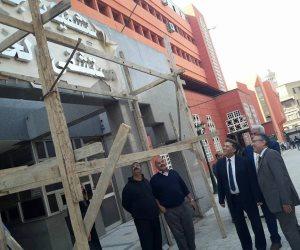 عميد طب الأزهر يتفقد تجديدات مستشفى الحسين الجامعي