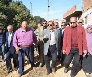 محافظ الإسماعيلية: إعتماد 68 مليون جنيه لتطوير منطقة على عيد (صور)