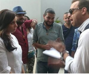 """شاهد.. ريم البارودي في كواليس مسلسل """"السر"""" رمضان 2018"""