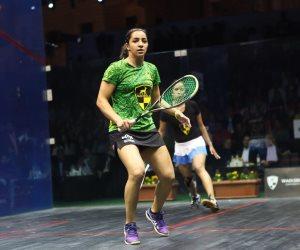 جمهورية الإسكواش تتحدث.. 5 لاعبات مصريات يتأهلن إلى دور الـ 32 ببريطانيا المفتوحة