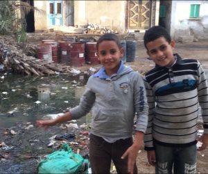 400 مليون جنيه تنهى أزمة الصرف الصحى بقرى الجزيرة الخضراء فى كفر الشيخ(صور)