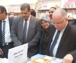 وزير الثقافة يفتتح معرض أسيوط للكتاب (صور)