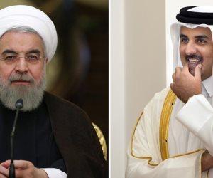 ابن الخاين خاين.. كيف يرى مسؤولو الخليج اتصال أمير قطر بالرئيس الإيراني؟