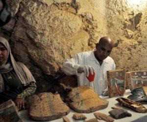 """وزير الآثار: اكتشاف 4 مقابر تاريخية بـ""""دراع أبو النجا"""" غربى الأقصر"""