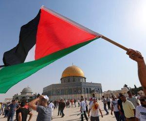طلاب جامعة الأهرام الكندية ينظمون وقفة احتجاجية تضامنا مع القدس